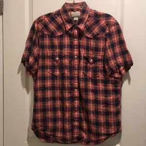 Lucky Brand Button Up Shirt
